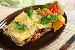 Lasagne grillezett zöldségekkel