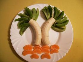 Pálmafás gyümölcssaláta