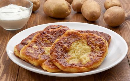 Krumplilángos