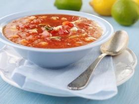 Frissítő gazpacho