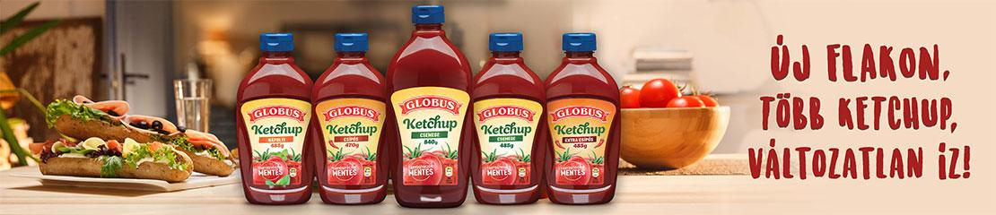 Új flakon, több ketchup, változatlan íz!