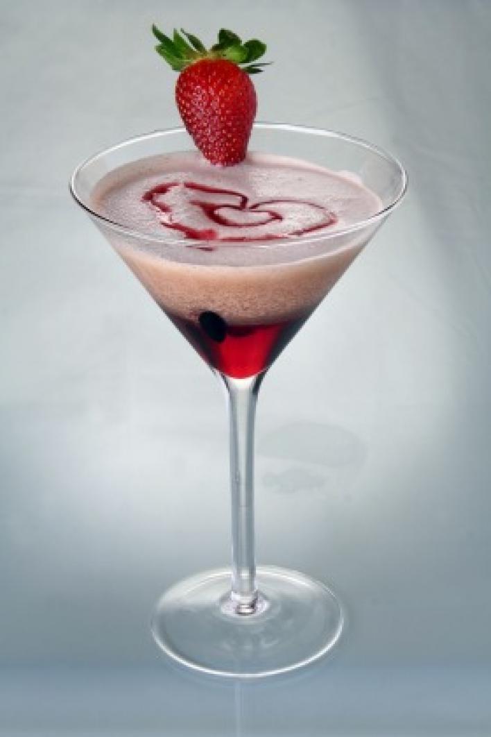 Magnum málna-martini
