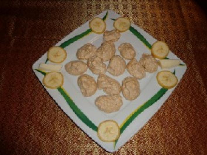 Banános habcsók
