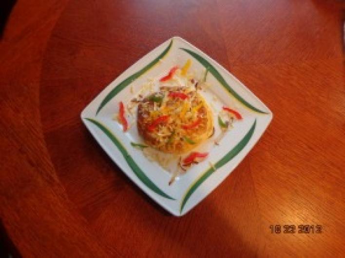 Három sajtos dupla mini omlett