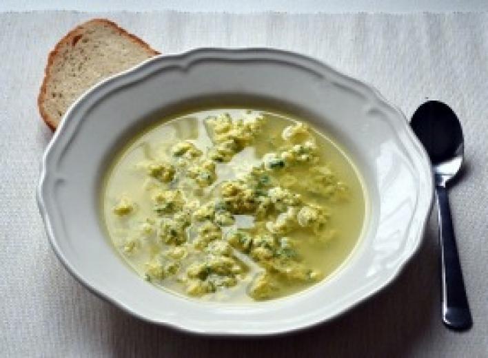 Olasz tojásleves parmezánnal-Stracciatella leves