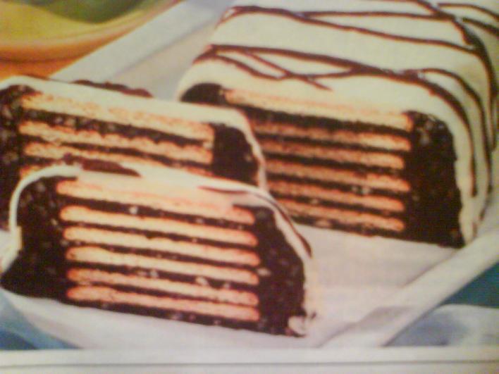 Csokoládés kekszkenyér
