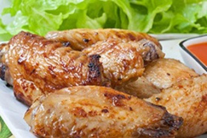 Mézes csirkeszárnyak