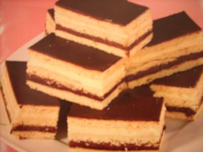 Citromos kakaókrémes süti