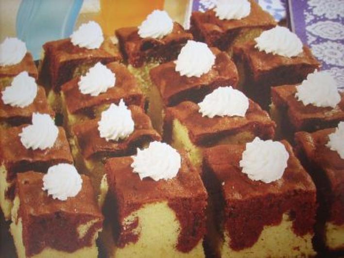 Habos tarka sütemény