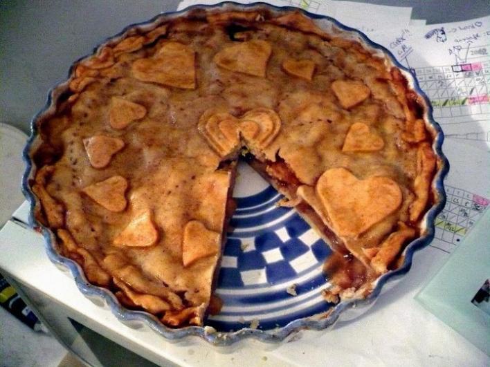 Almás torta