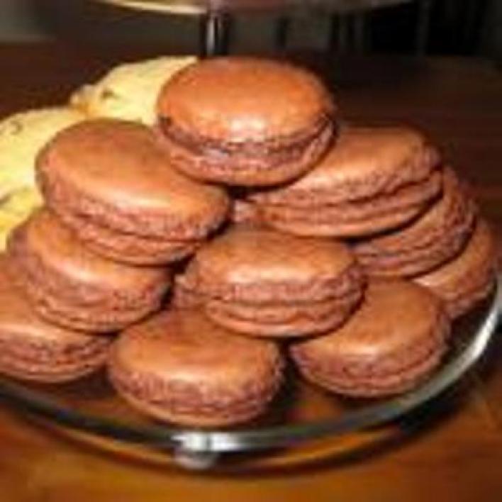 Csokoládés makron