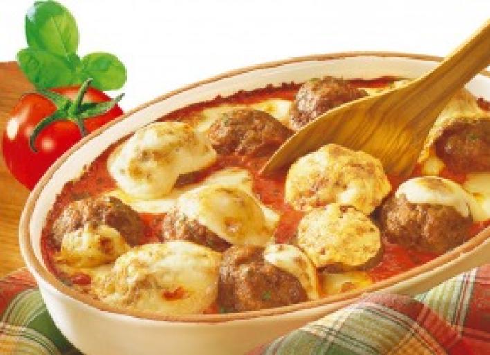 Olasz paradicsomos húsgolyók