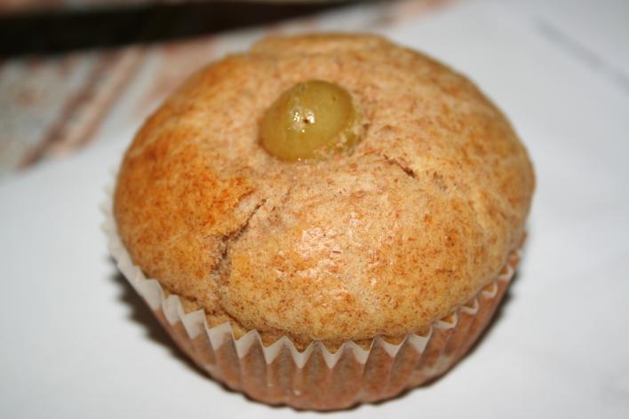 Szőlős graham muffin