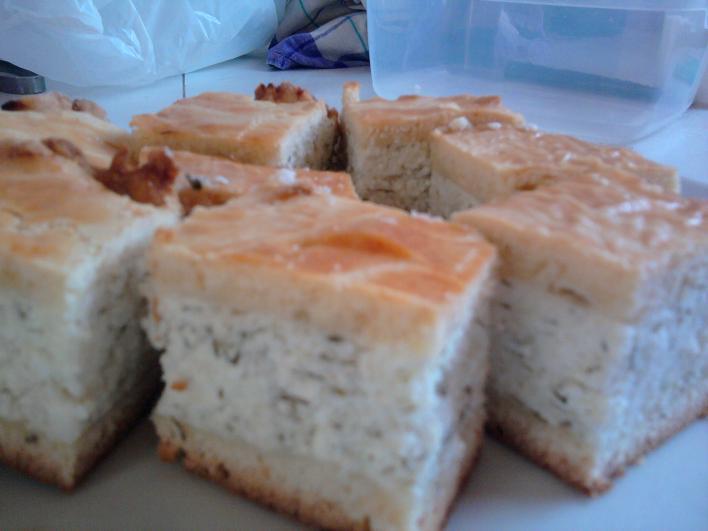 Kapros-túrós pite