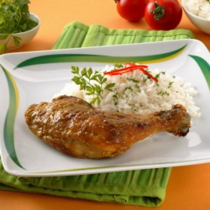 Édes currys csirke