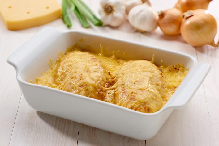 Tejszínes csirkemell sütőben
