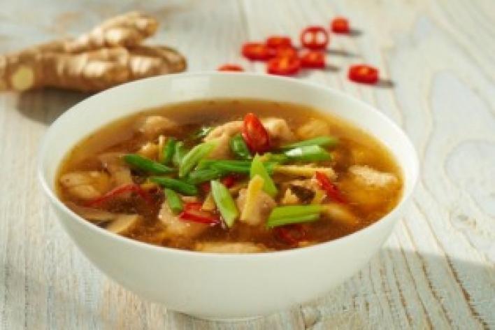 Kínai csípős savanyú leves