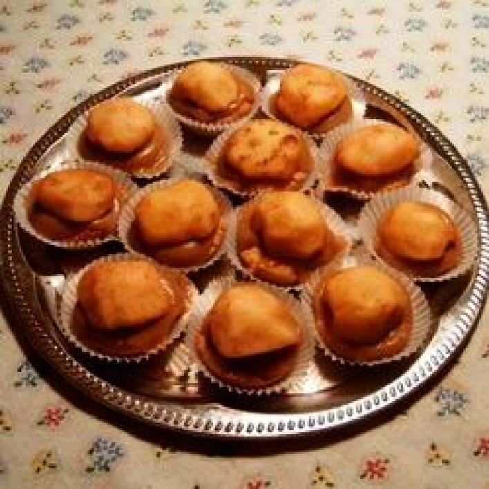 Almás-fehérboros tortácskák