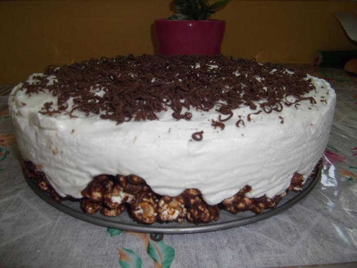 Patogatott kukorica-torta