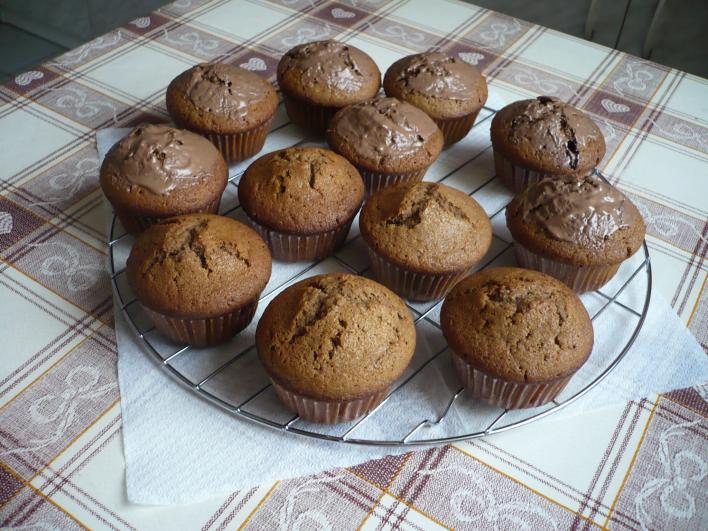 Csokoládés muffin