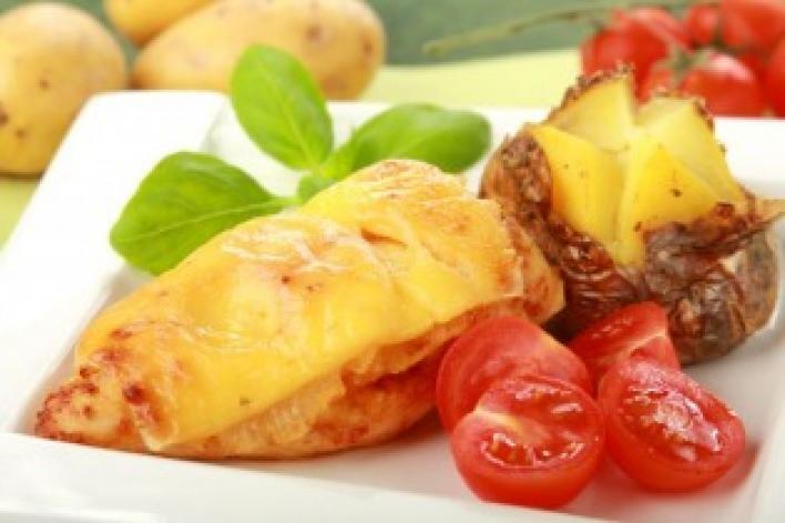 Sült csirke ananásszal