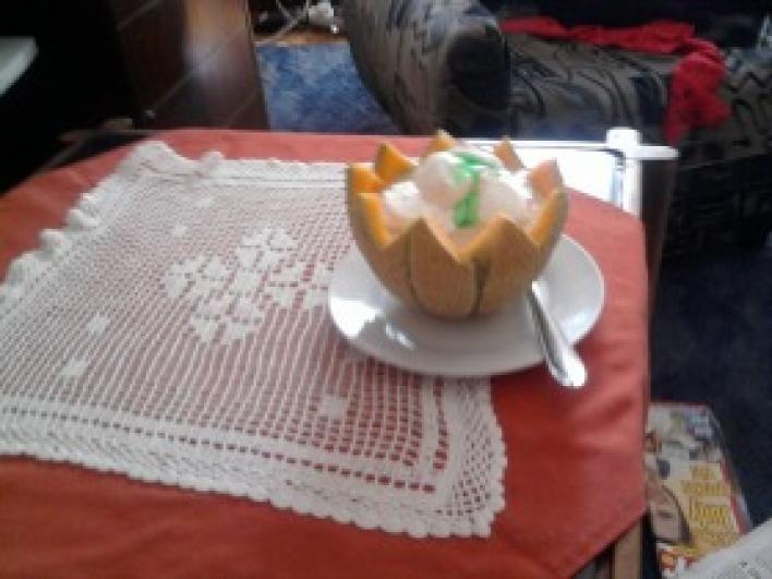 Sárgadinnye krémleves