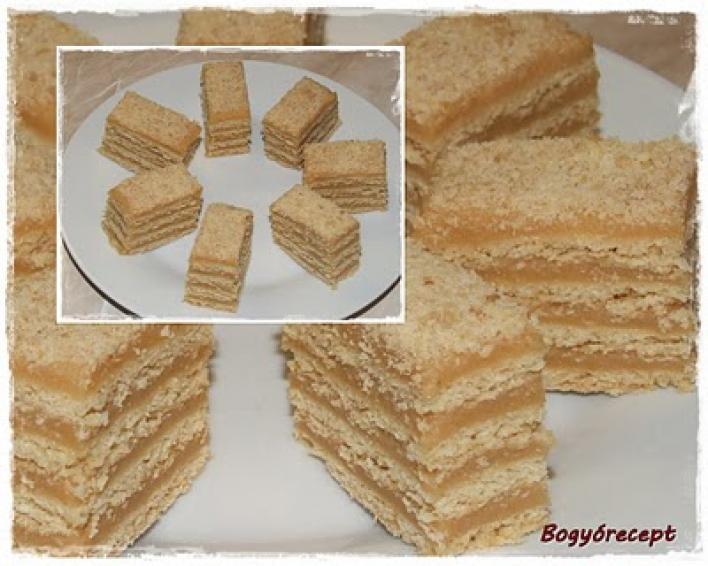 Egytojásos torta (karamellás sütemény)