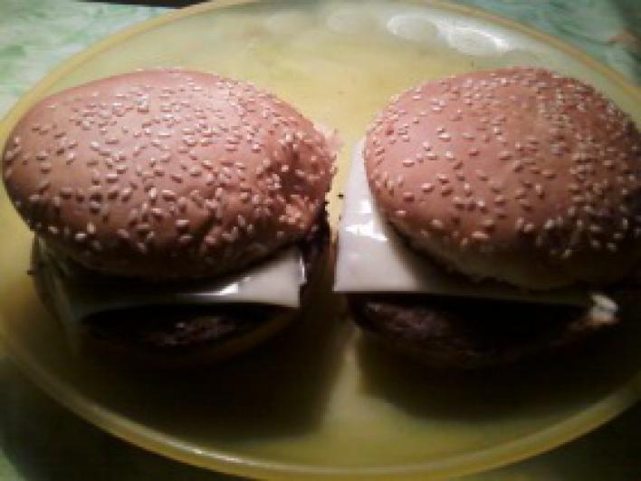 Házi burger hús