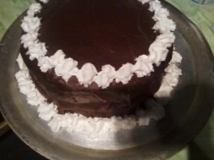 Régimódi csokitorta