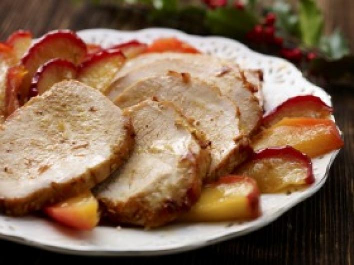 Malackaraj sült almával