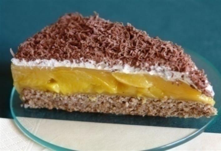 Őszibarackos torta