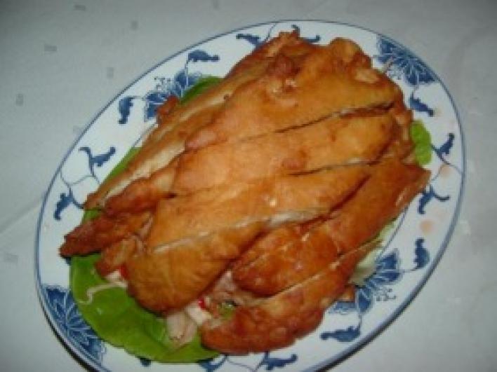 Illatos omlós csirke