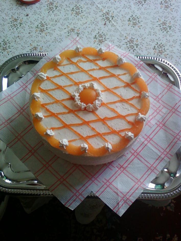 Tejszínes, túrós torta