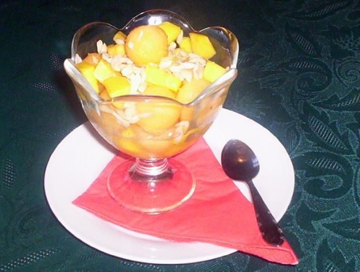 Részeges gyümölcssaláta