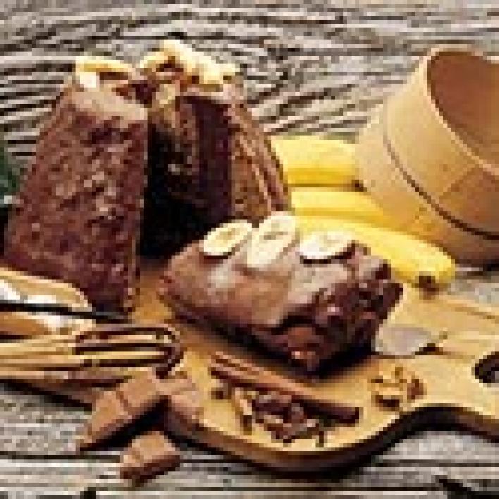 Csokis banános kuglóf