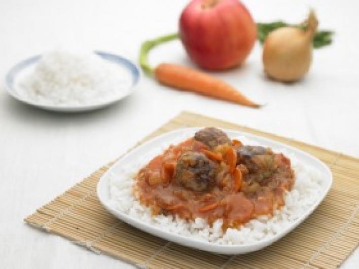 Kínai édes-savanyú húsgombócok
