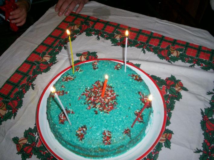 Kék laguna torta