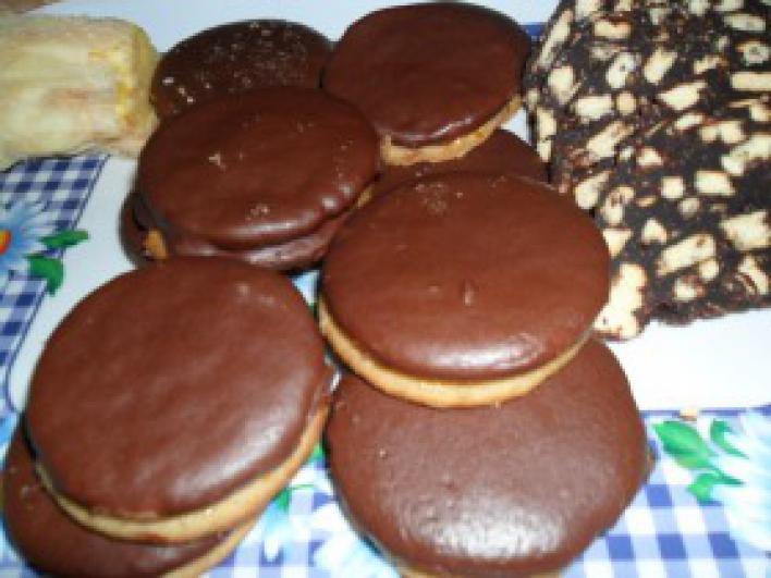 Csokis ischler