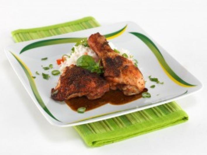 Zöldfűszeres - boros csirkesült