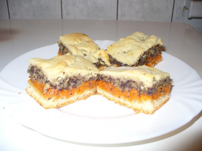 Tökös-mákos pite