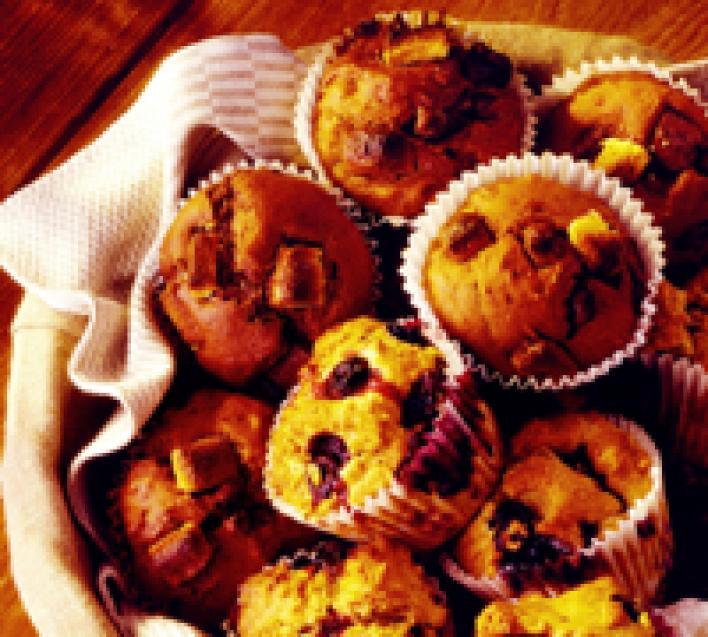 Édes Margherita muffin