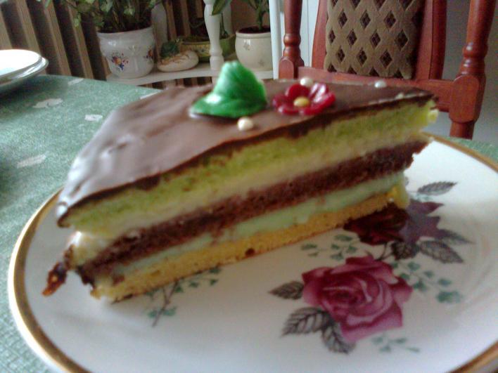 Mandulás torta