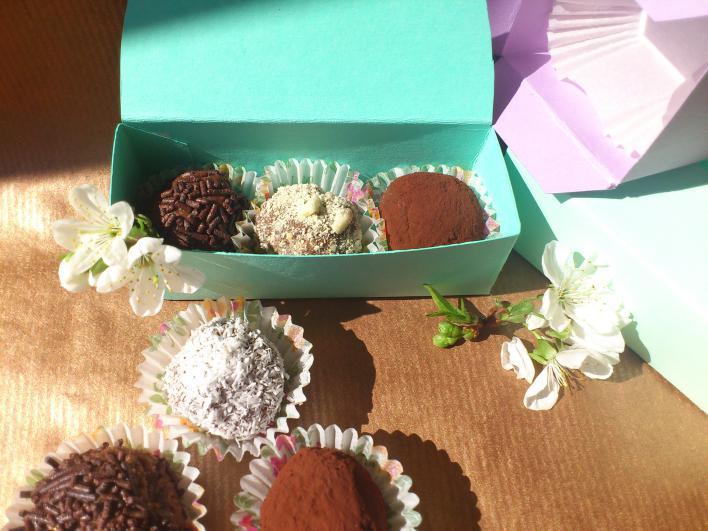 Rumos-mogyorós csokigolyó