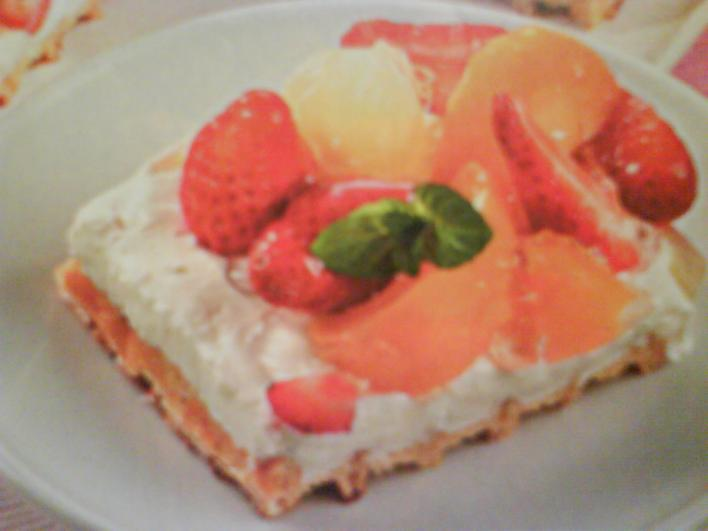 Gyümölcskocka sütés nélkül