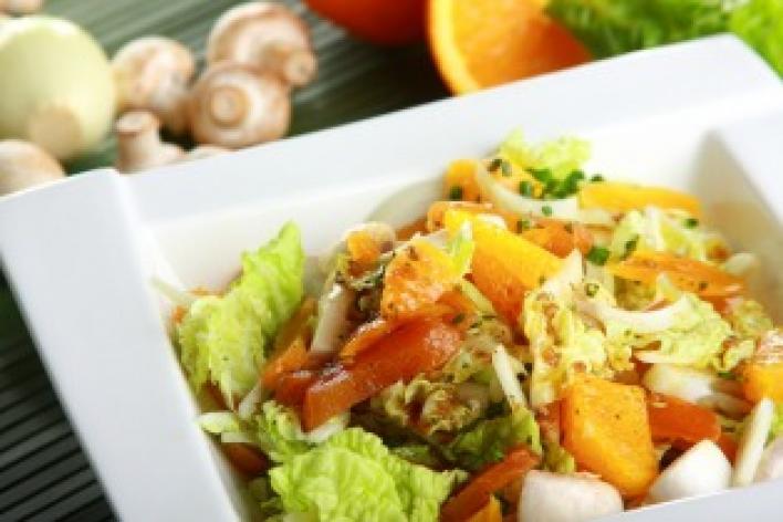 'Kelet íze' saláta