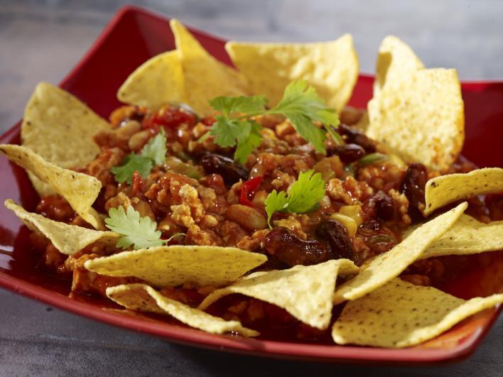 Csípős chili kukorica chipsszel