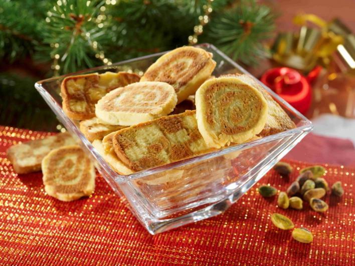 Pisztáciás-vaníliás keksz