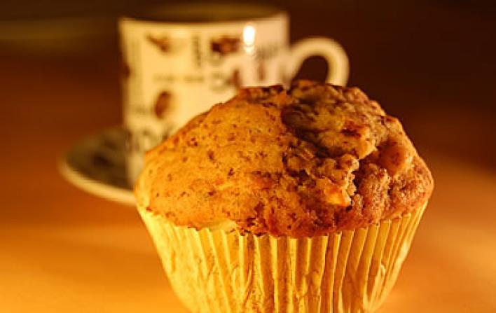 Csokis almás muffin