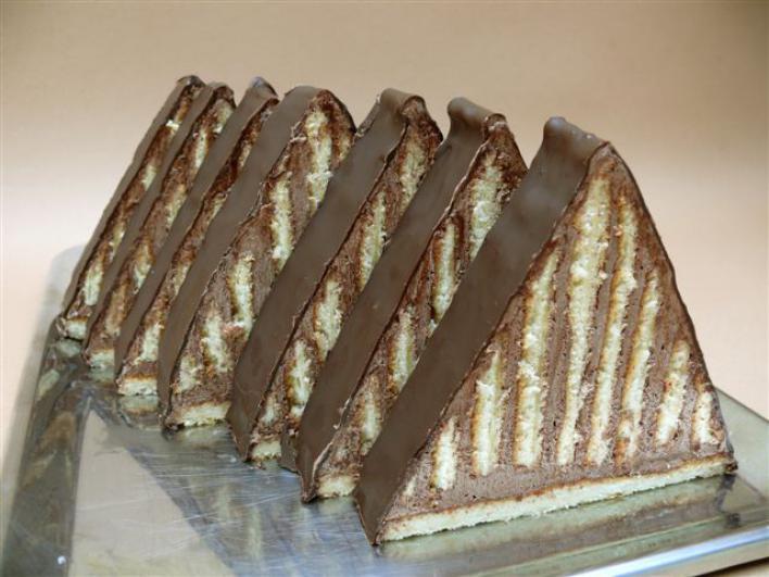 Csokoládés piramis