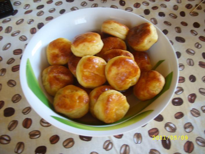 Krumplis, tejfölös pogácsa